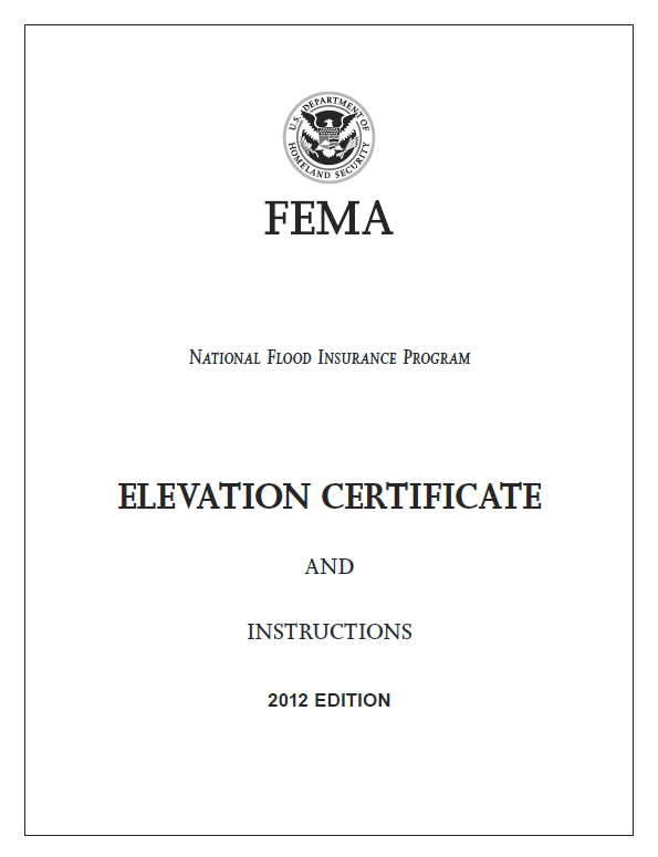 for elevation certificates for flood insurance in long island